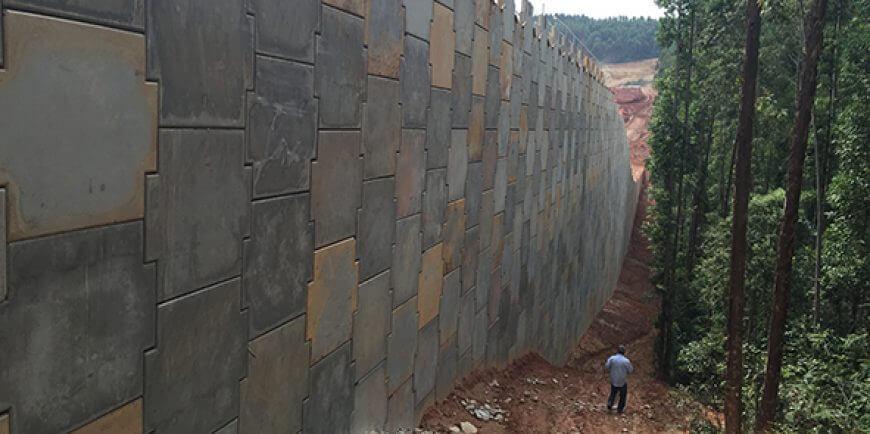 Projeto de Muro de Contenção tipos, cálculo e custos