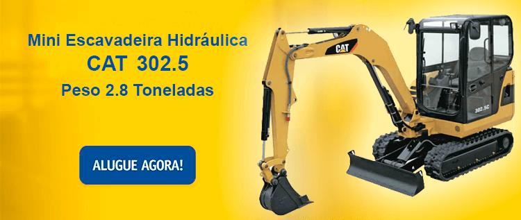 Escavadeira Hidraulica CAT 302.5