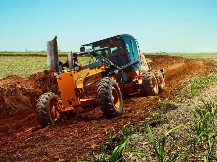 Máquinas pesadas aumentam a produtividade do agronegócio