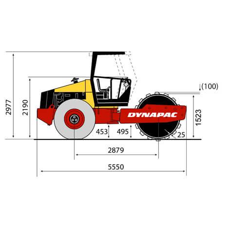 DYNAPAC-CA-250-PD-3