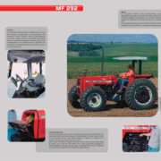 trator agricola mf 292