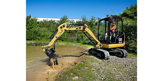 CATMini Escavadeira Hidráulica – Versatilidade, desempenho e conforto produtivo