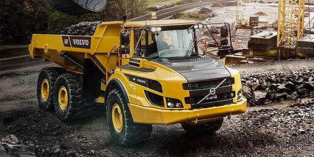 Caminhão articulado Volvo A30F