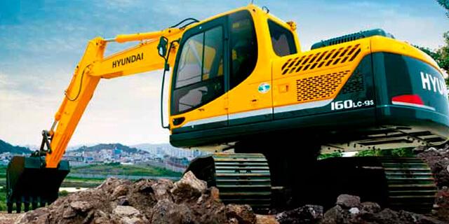 Escavadeira Hidráulica Hyundai 520 LC-9
