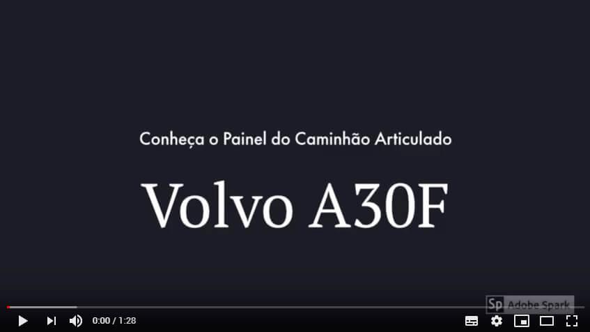 Conheça o Painel do Volvo A30F